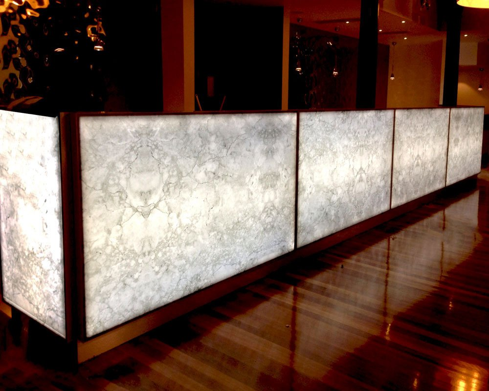 Lighting Behind Onyx Marbles : Oriental trimex limited onyx